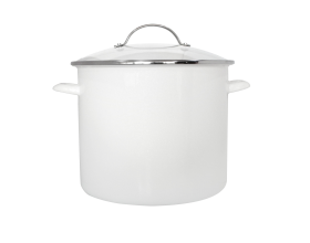 8QT STOCK POT - NEW WHITE